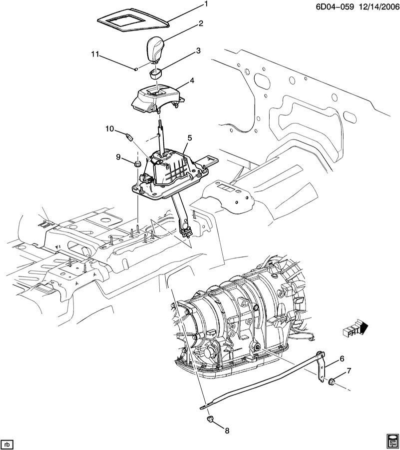 Cadillac CTS Link. Transmission shift shaft lever. Link, a
