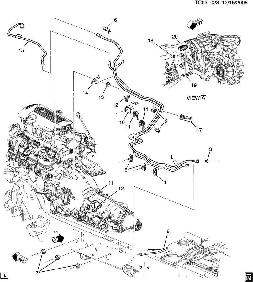2005 Chevrolet Silverado Tube. Early fuel evaporation