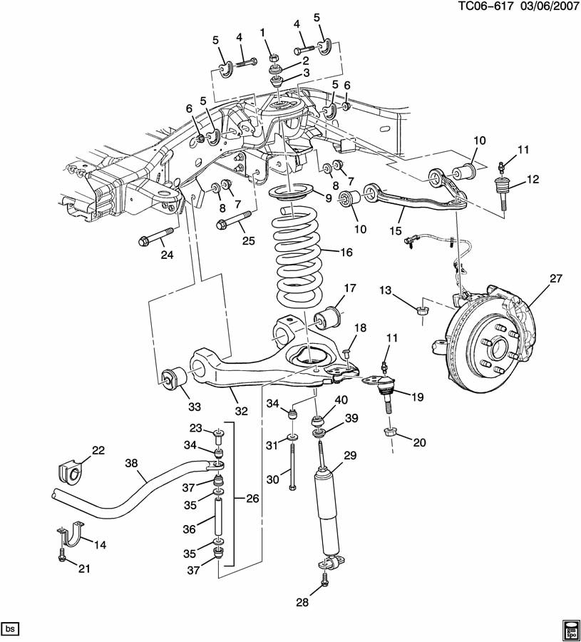 Wiring Diagram: 11 1998 Chevy Silverado Rear Drum Brake