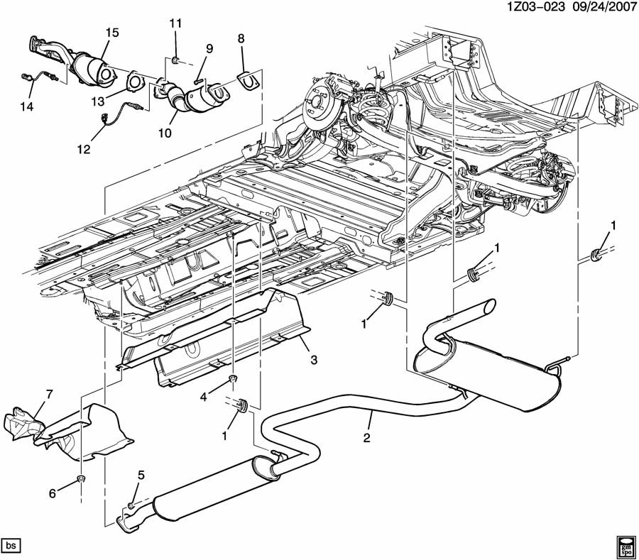 [DIAGRAM] Pontiac G6 Engine Sensor Diagram FULL Version HD