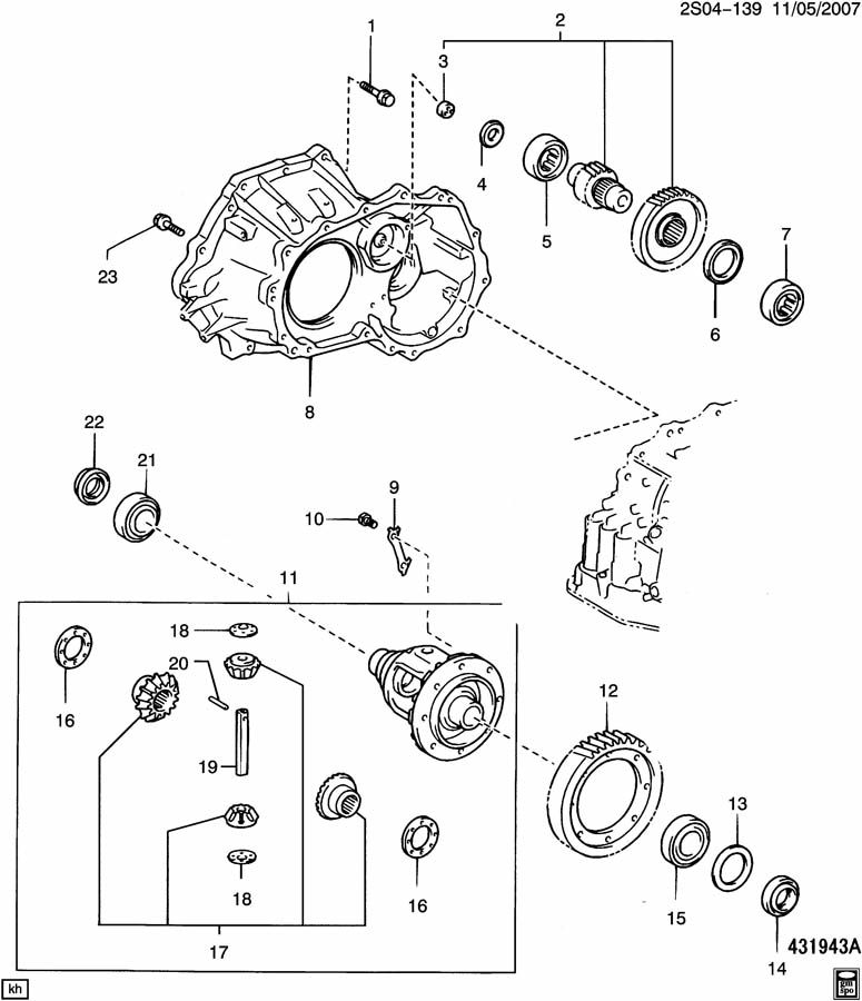 Pontiac Vibe AUTOMATIC TRANSAXLE