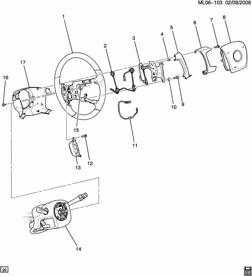 Chevrolet C1500 Wire. Horn. Horns, filteror, correct