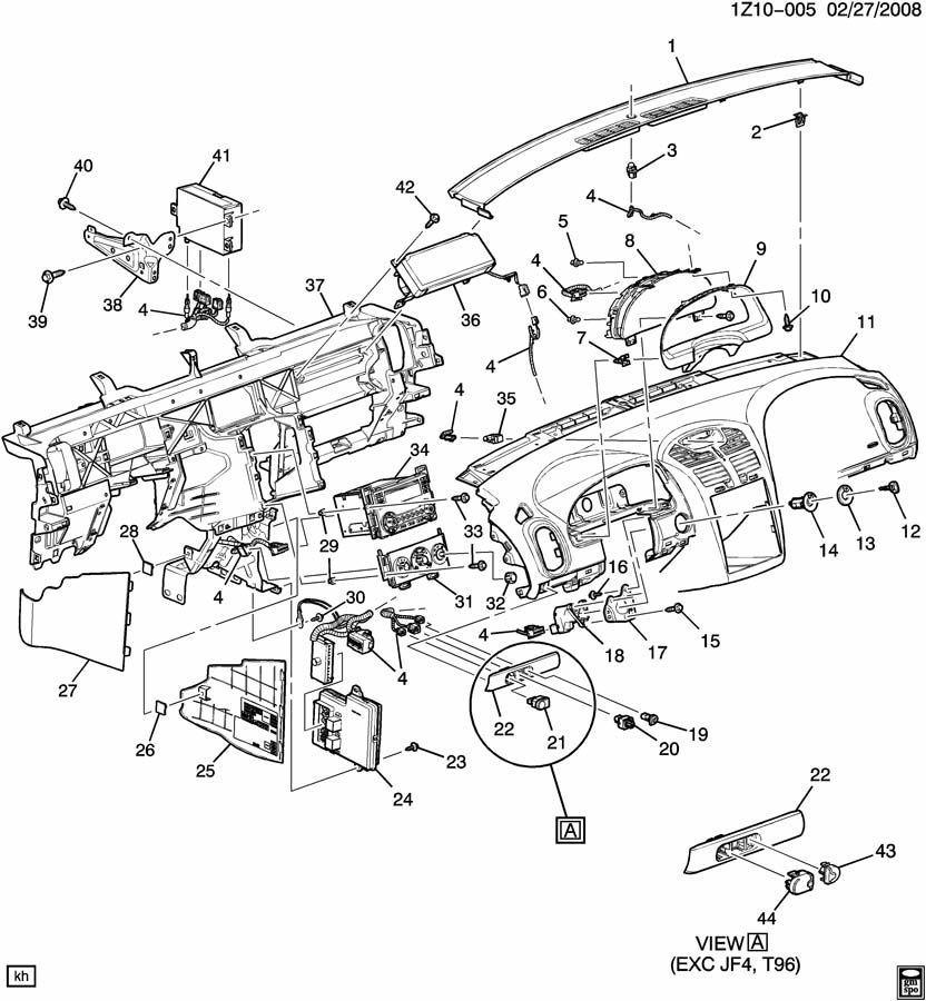 Pontiac G6 Module. Body multifunction electric computer