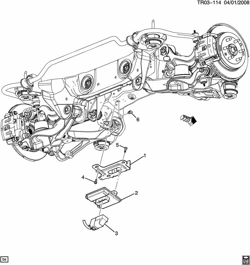 Chevrolet Traverse FUEL CONTROL MODULE