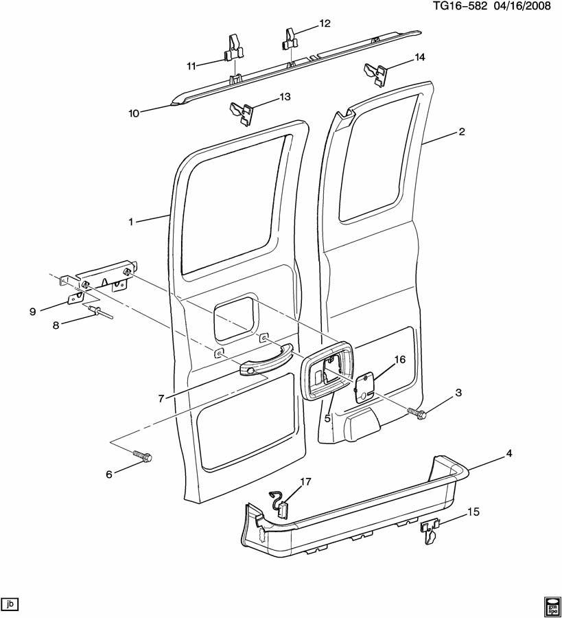 2000 Chevrolet EXPRESS Handle. Door inside assist handle