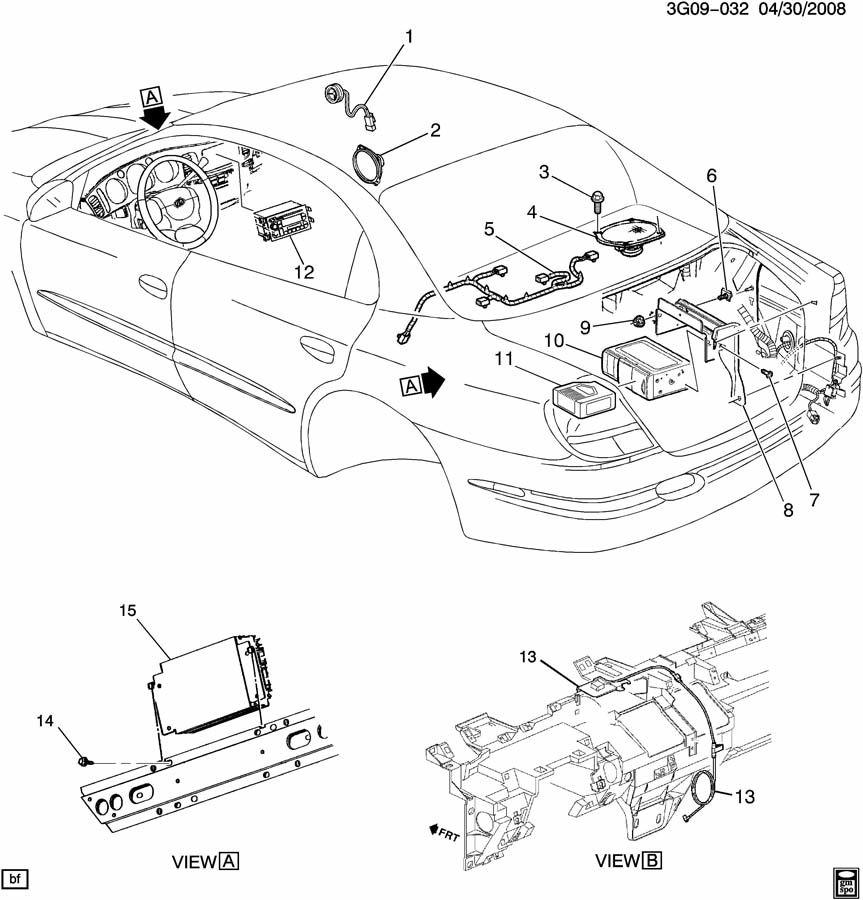 Oldsmobile Aurora AUDIO SYSTEM