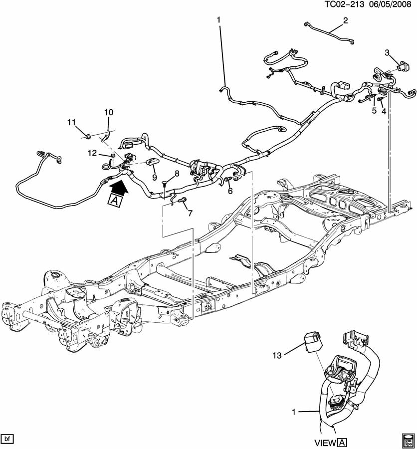 Chevrolet SUBURBAN Towing. RECEPTACLE. CONNECTOR. Trailer