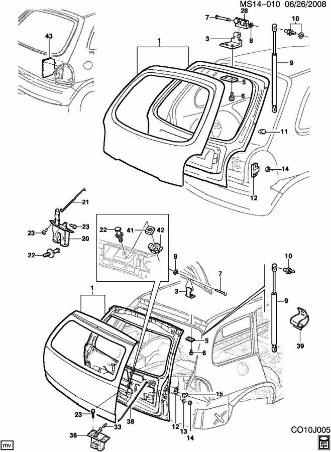 2014 Chevrolet Cruze 1LT 4DR Deflector. Front end/bumper