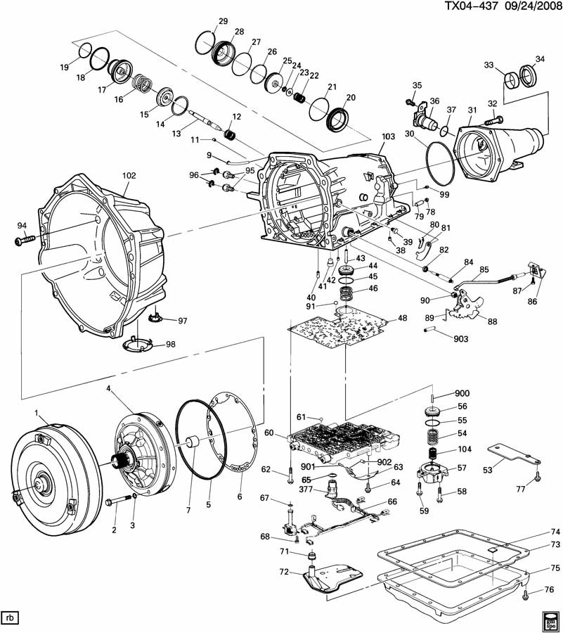 4l60e Transmission Exploded View Diagram : 40 Wiring
