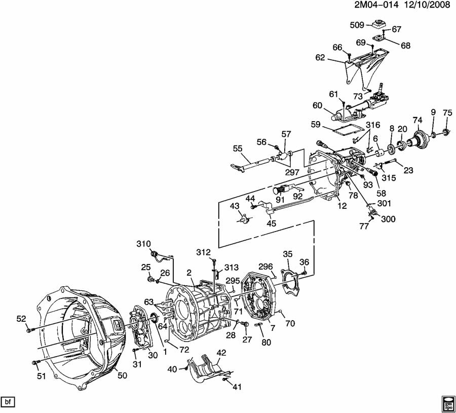 Pontiac Transmission Diagrams: Service manual pontiac
