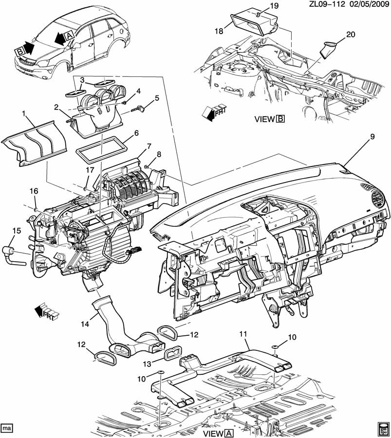 Service manual [Vacuum System Install 2010 Saturn Vue