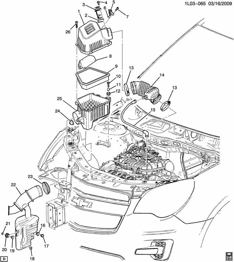 Chevrolet Equinox Pcv valve hose. 3.0 liter. 3.0 liter