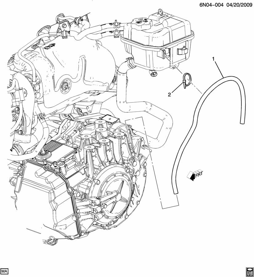 [2010 Cadillac Escalade Brake Replacement System Diagram
