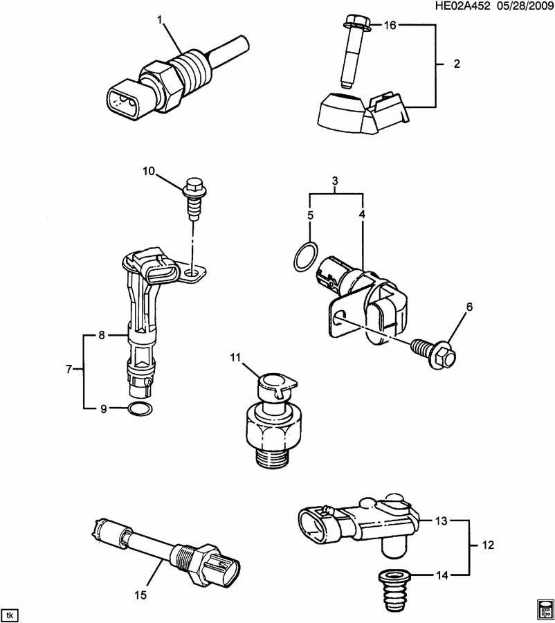 Pontiac GTO Sensor. Distributor (also knock sensor