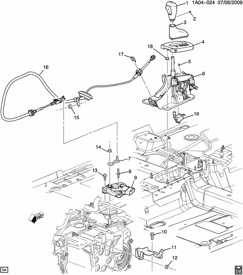 Service manual [How To Install Shifter Mechanism 2008