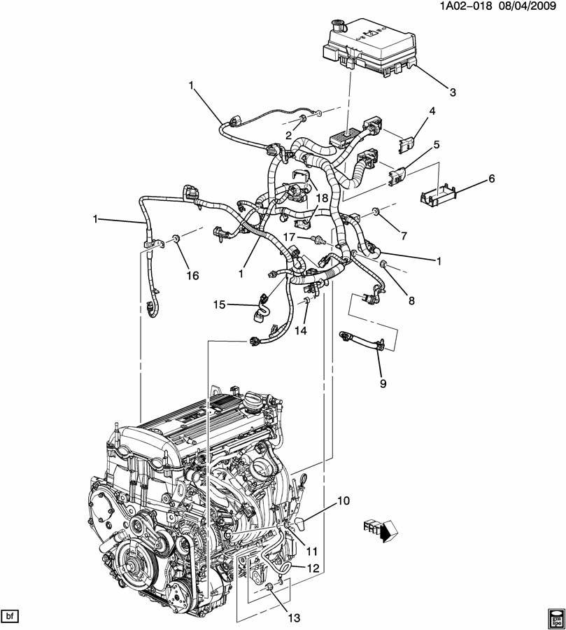2 2l Dohc Ecotec Engine Diagram Chevy 2.2L Engine Block