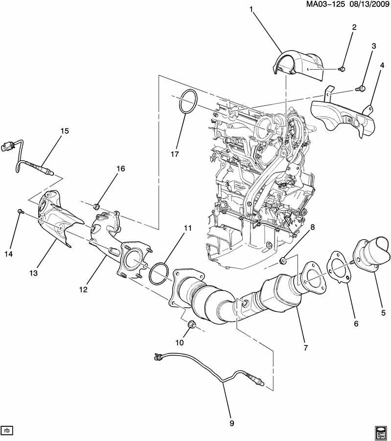 Chevrolet Cobalt Elbow. Choke heater or air. Elbow, turbo
