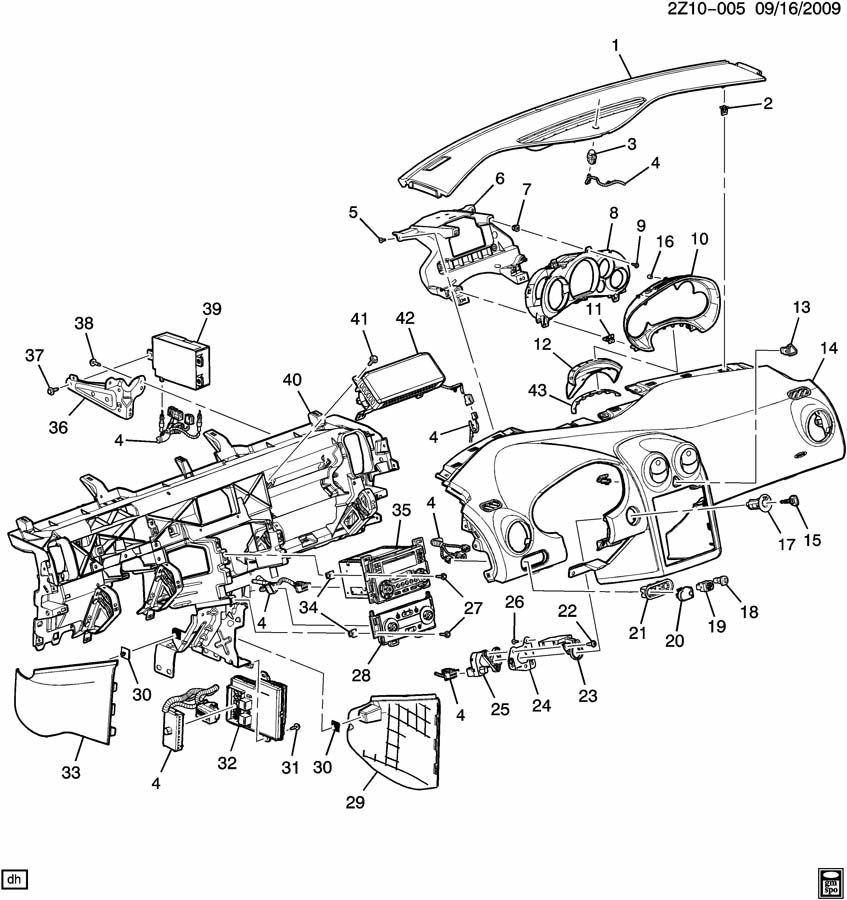 Pontiac G6 Cylinder kit. Ignition switch. Cylinder kit