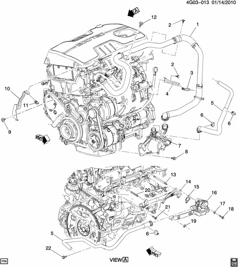 Buick LaCrosse A.I.R. PUMP & RELATED PARTS