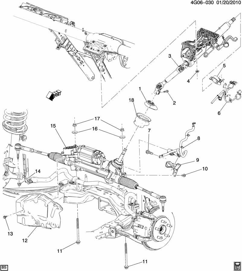 Buick LaCrosse Gear. Steering. Gear, strg (w/ mot)(acdelco