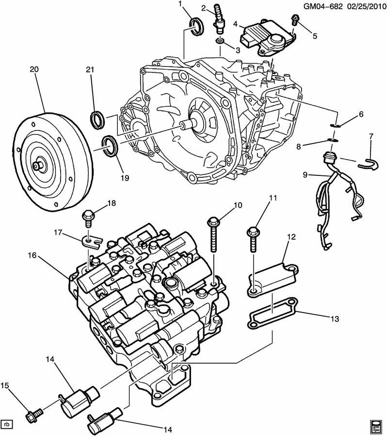 Chevrolet Cruze Module. Transmission control module