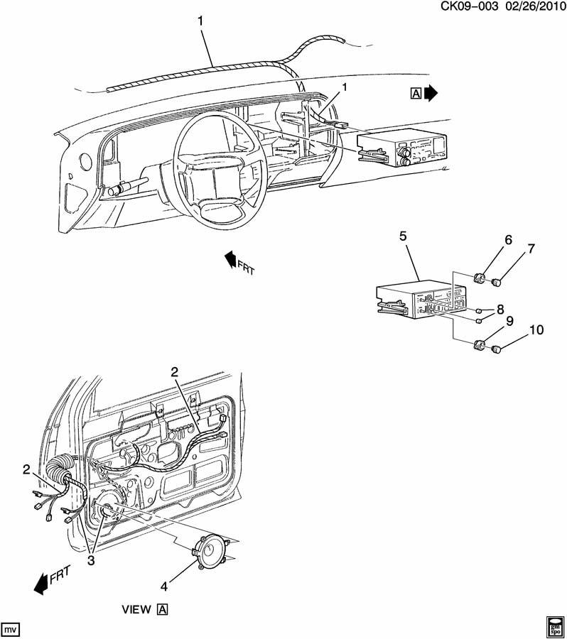 Chevrolet K2500 Radio. Radio receiver. Cbdm, bhck, dfyf