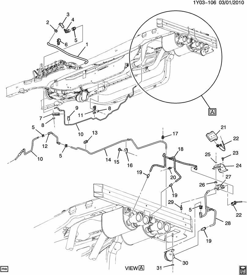 Chevrolet Corvette Valve. Engine fuel intake manifold