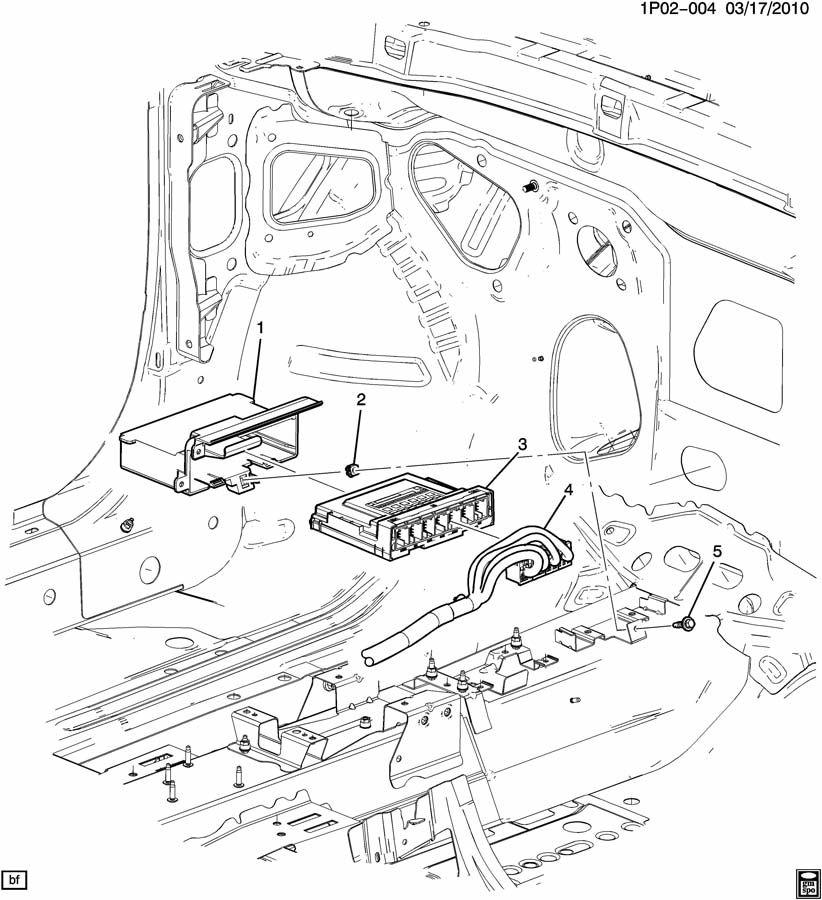 Chevrolet Cruze MODULE/BODY CONTROL