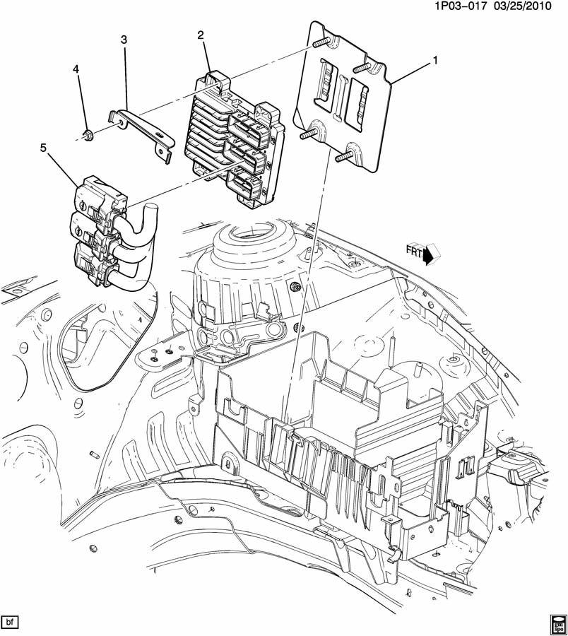 Chevrolet Cruze Module. Emission control system. Mpu