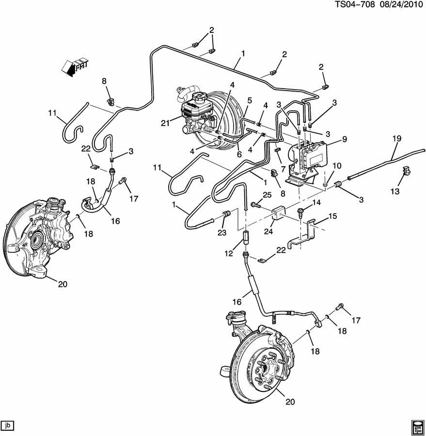2006 Chevrolet COLORADO Pipe. Fuel line. Hydraulic brake