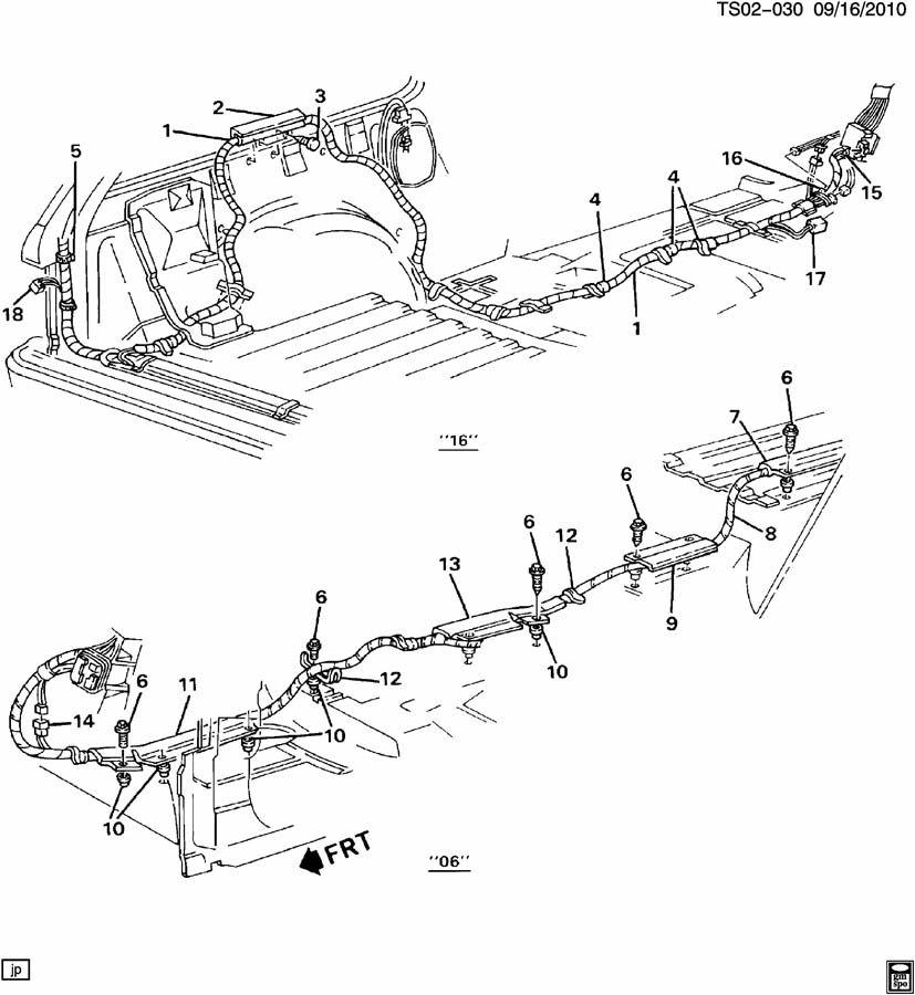 Chevrolet S10 Connector. Illustration, connectormdlst
