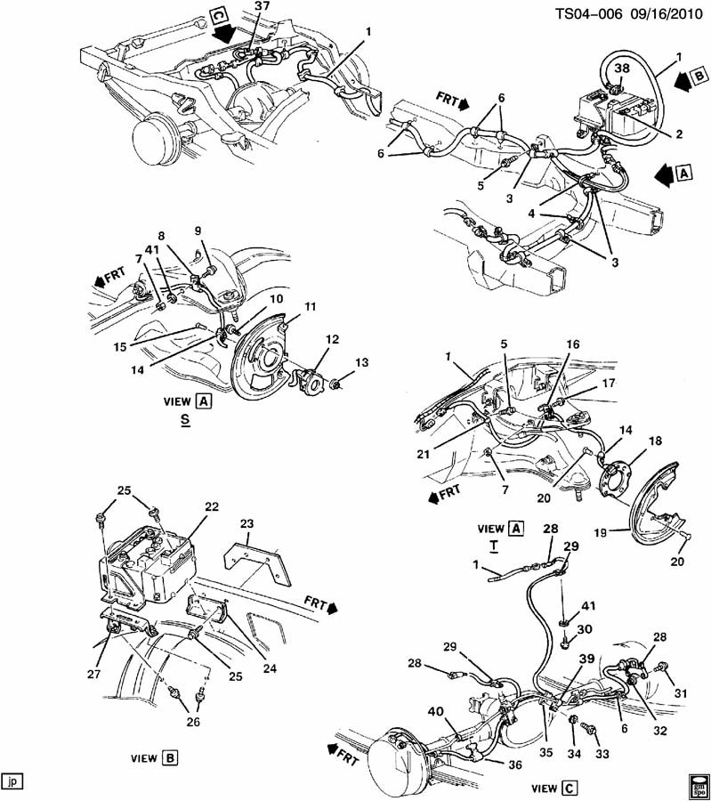 Chevrolet S10 Clip. Electronic brake control. Clip, elek