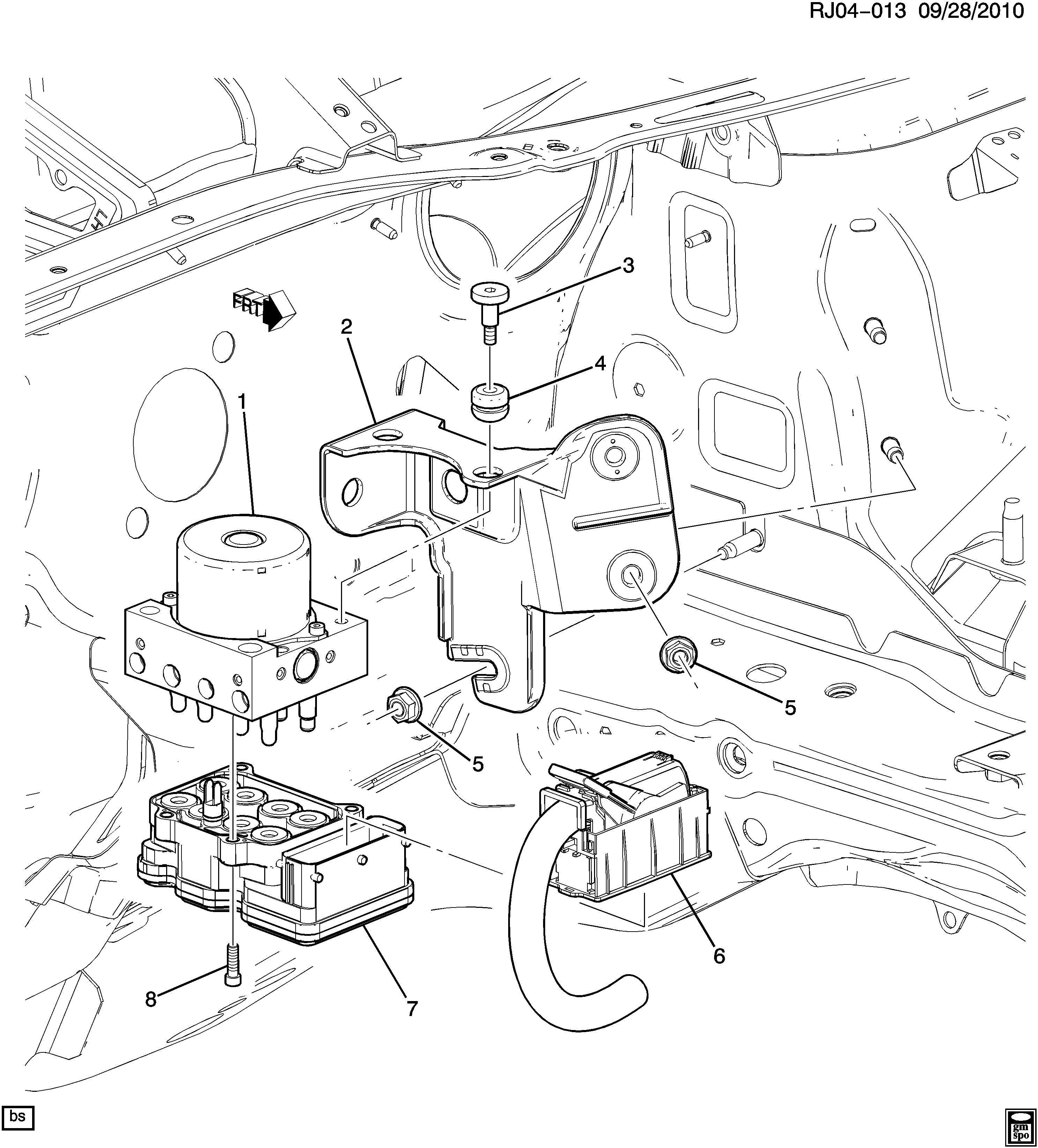 Chevrolet Trax Control module. Module kit. Kitelek