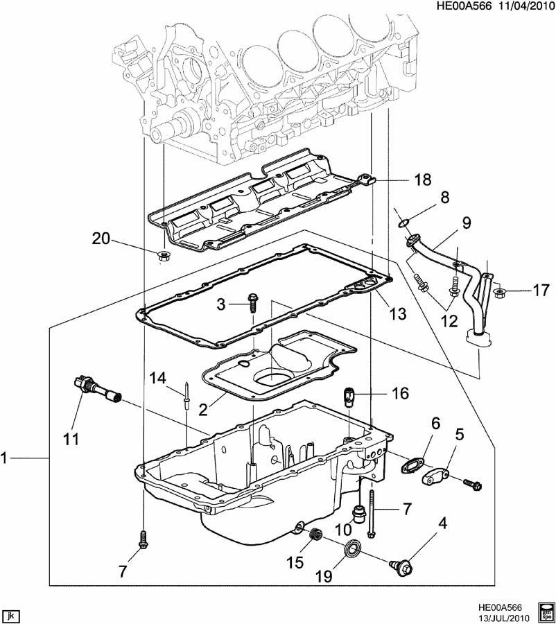 Chevrolet Silverado Base Gasket. Engine oil pan. Gasket