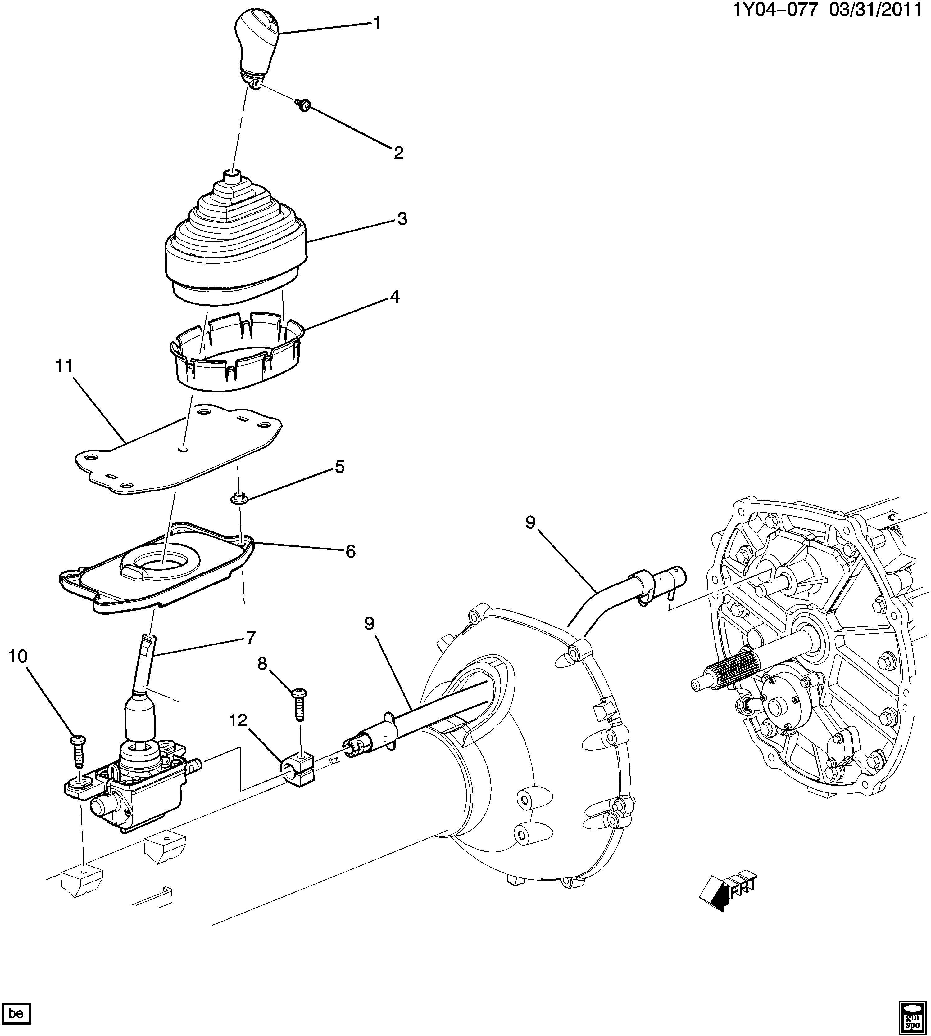 2008 Chevrolet Corvette Base Convertible Control
