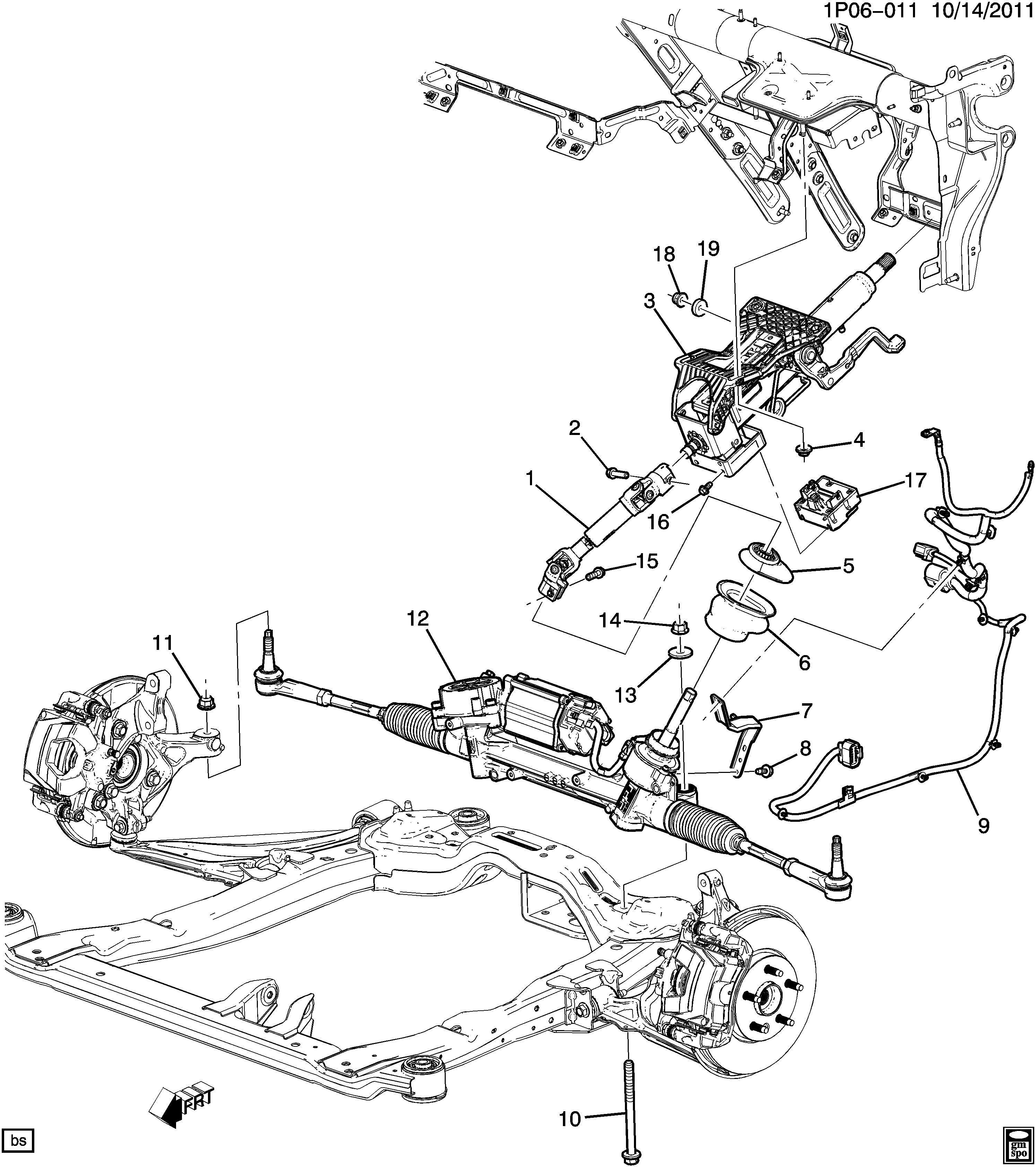 Chevrolet Cruze Module. Steering wheel pad. Controluls