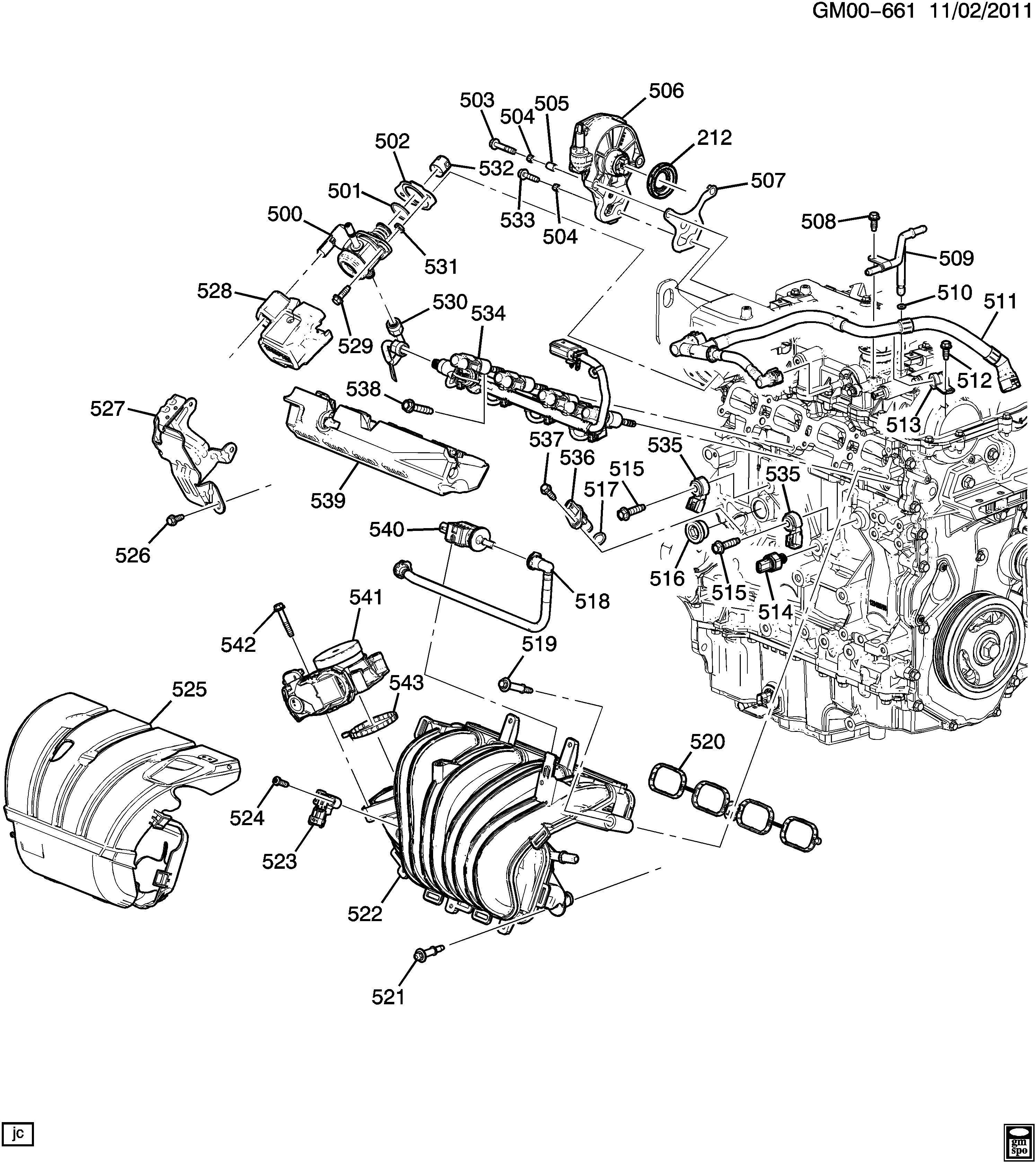 2013 Chevrolet Malibu Pump. Engine vacuum pump. Pump, vac
