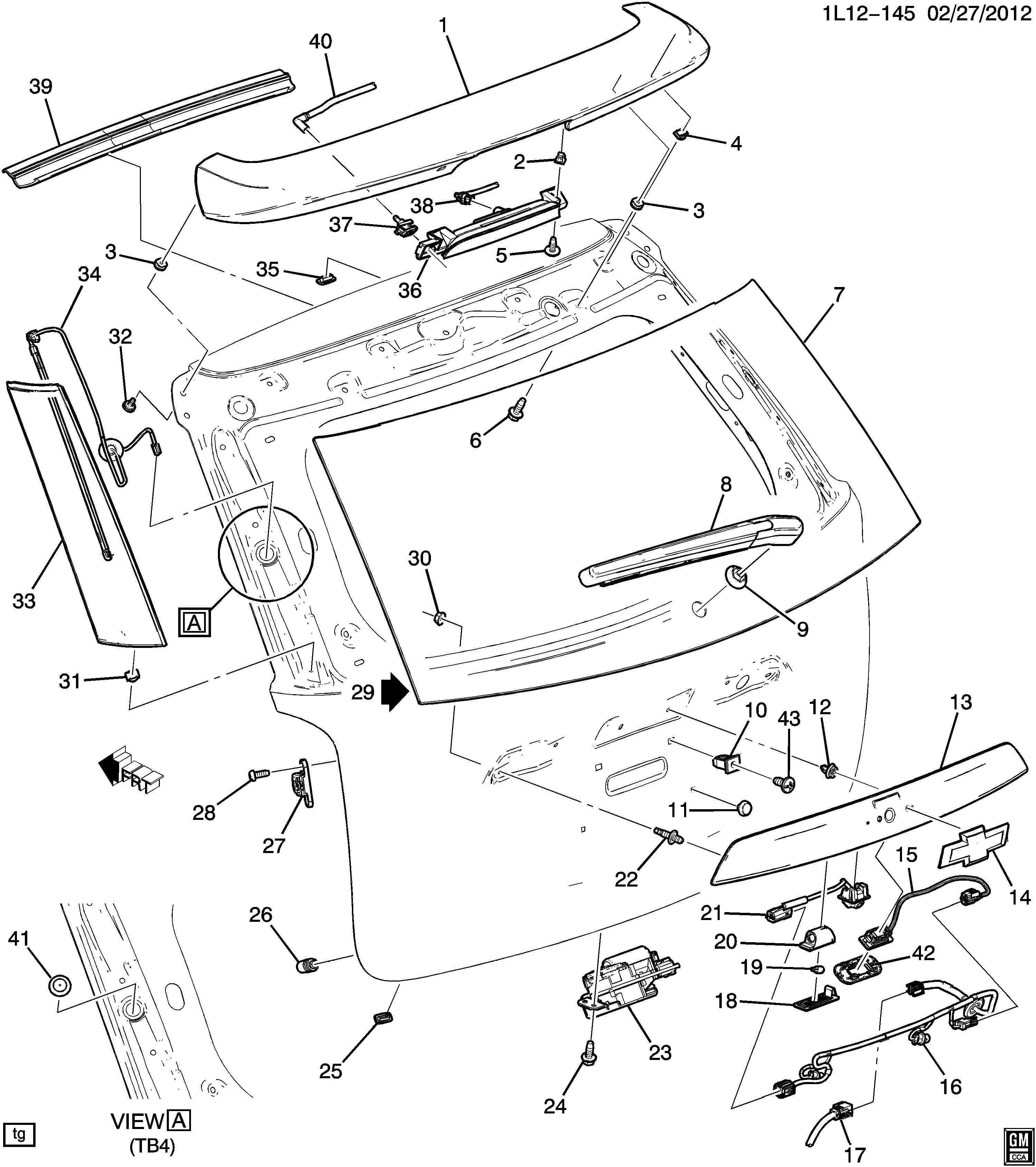 Chevrolet Equinox Harness Assembly