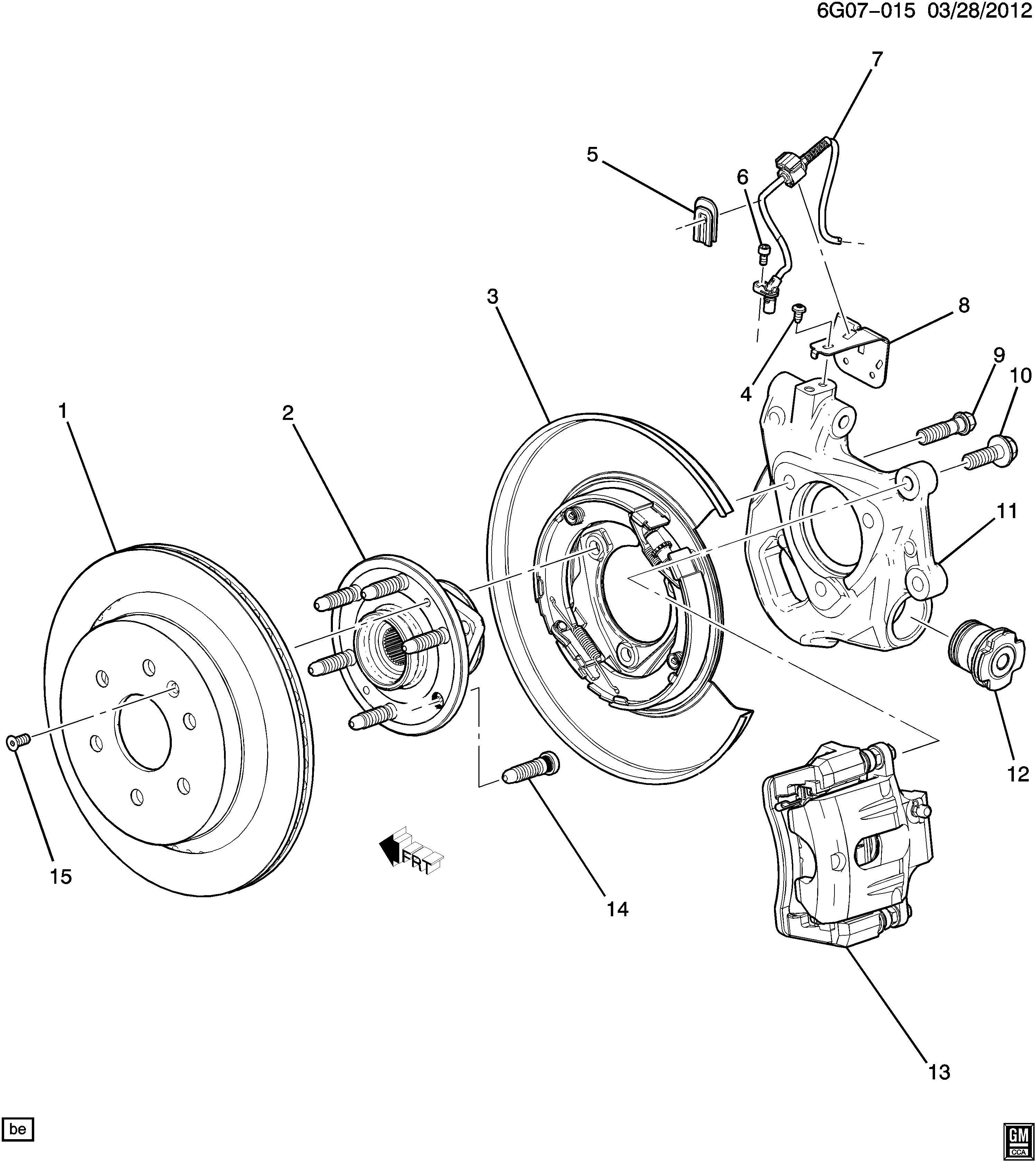 Chevrolet Sonic Bolt Adh Kitbushing