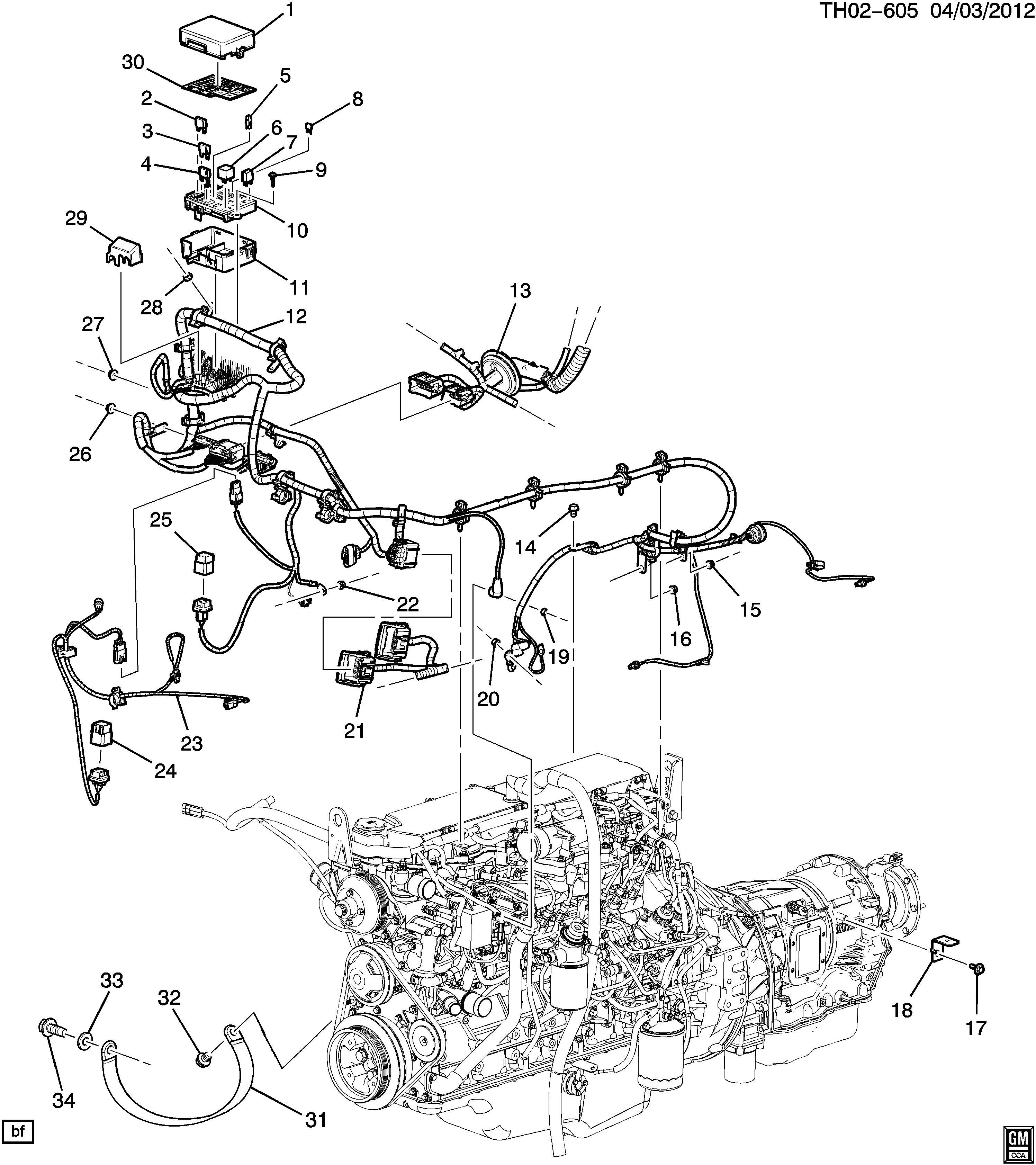 GMC C7500 Accessory Power Relay. RELAY. Secondary Air