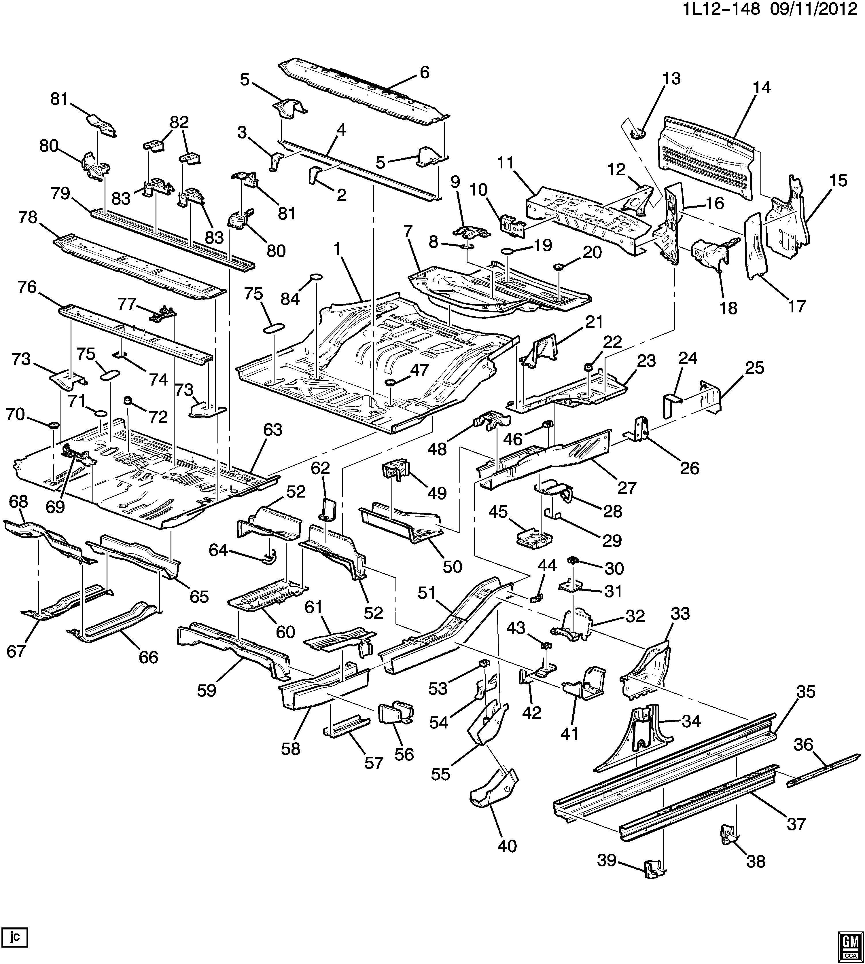Chevrolet Equinox Bracket. Shock absorber/strut. Bracket