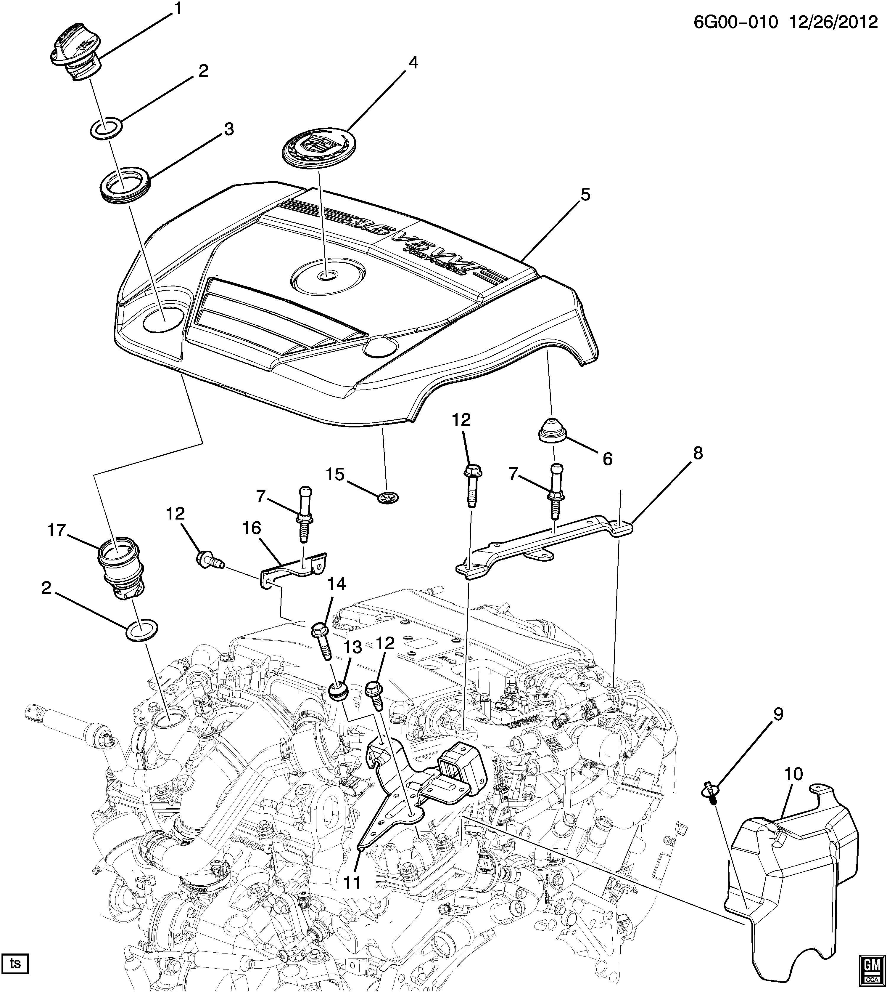 Cadillac Srx Performance 4dr Insulator Grommet