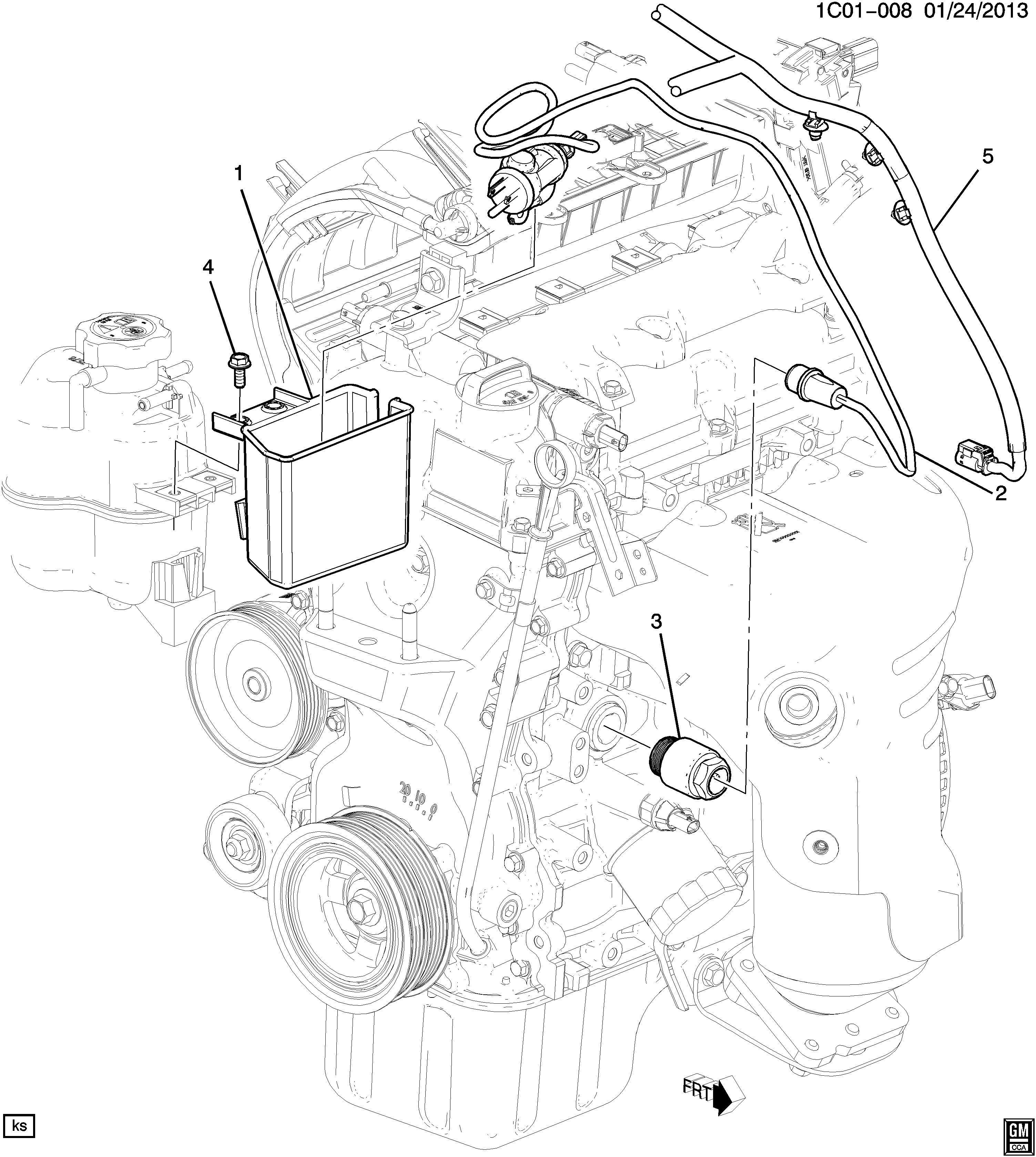 Chevrolet Spark ENGINE BLOCK HEATER