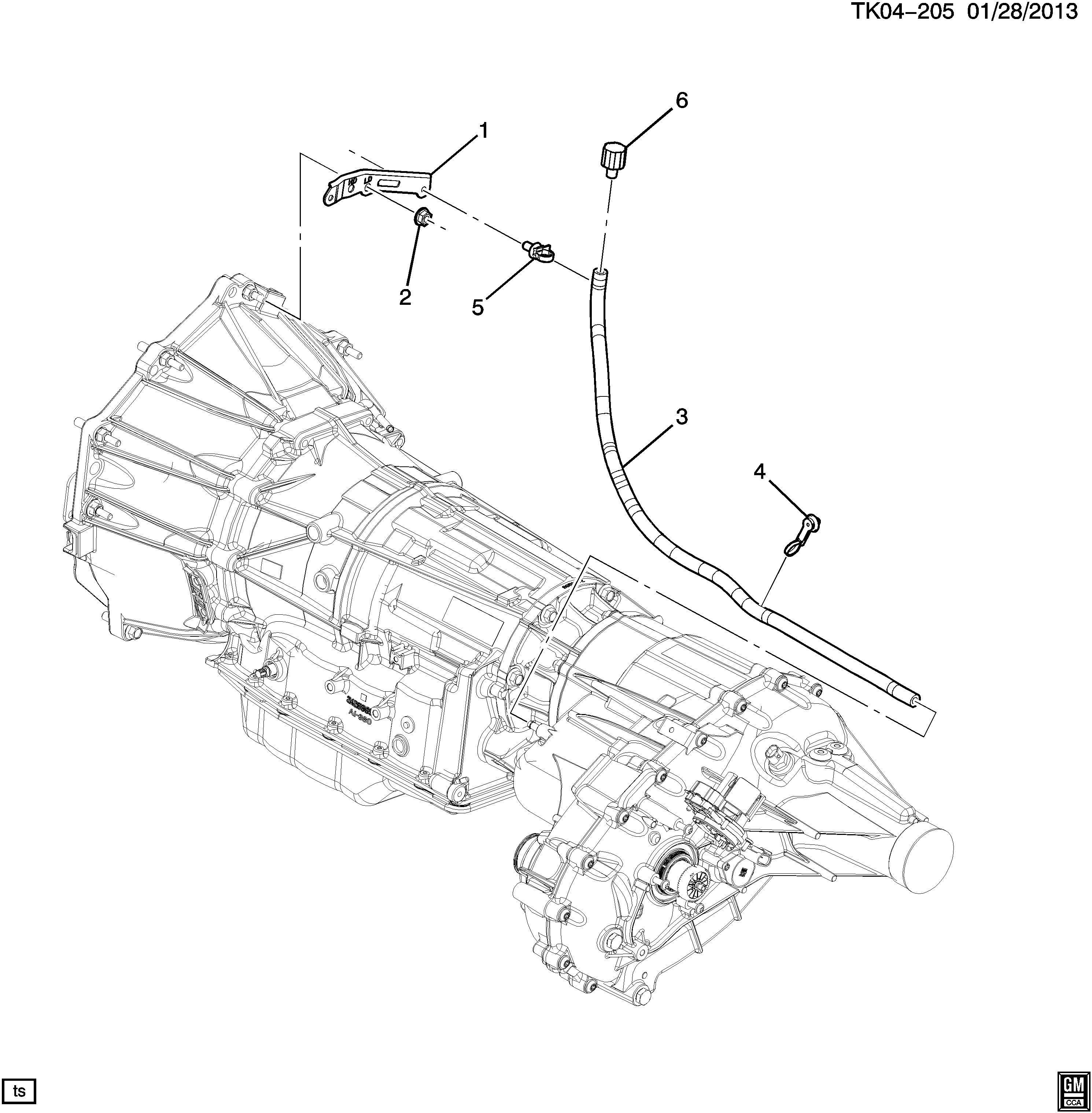 Chevrolet Tahoe Bracket Transmission Case Bracket Trans