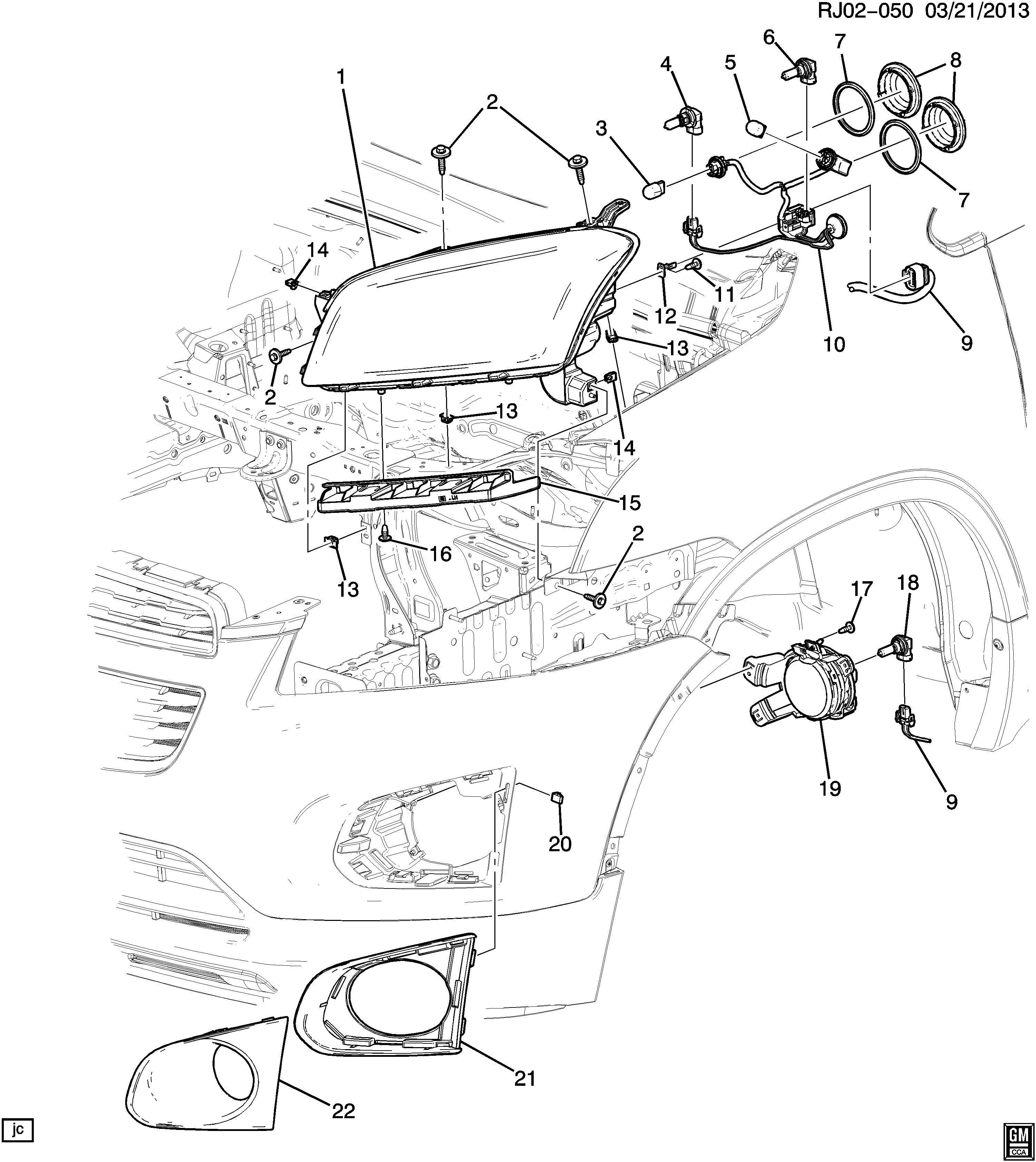 Chevrolet Optra Bulb. Capsule/headlamp/fog lamp