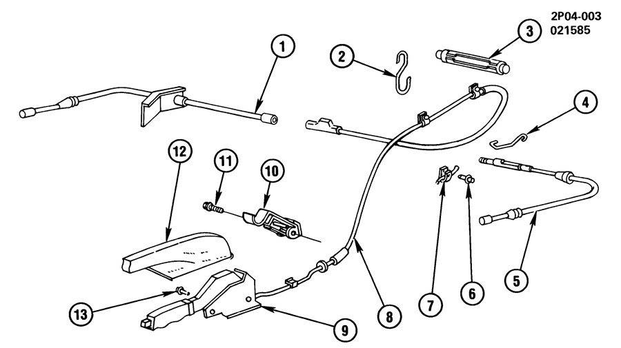 Service manual [1984 Pontiac 6000 Diagram Showing Brake