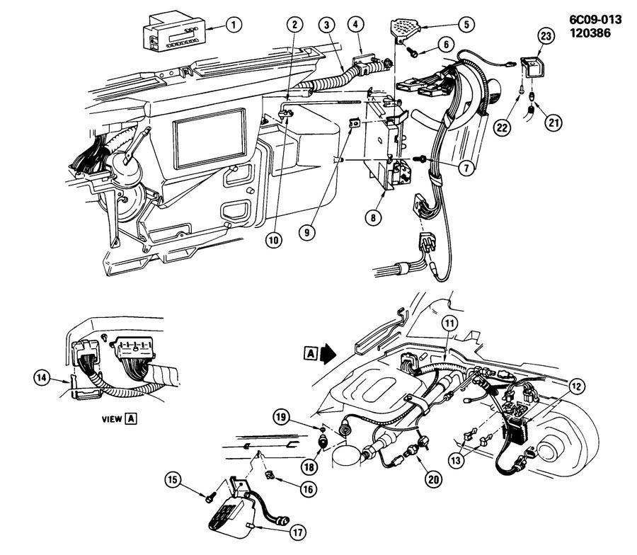 Cadillac Deville Hvac blower motor control module
