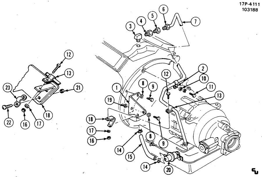 MODULATOR & VACUUM LINE/AUTO TRANS