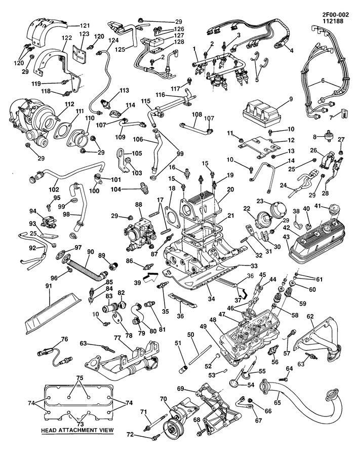 Chevrolet El Camino Grommet. Crankcase. Crankcase