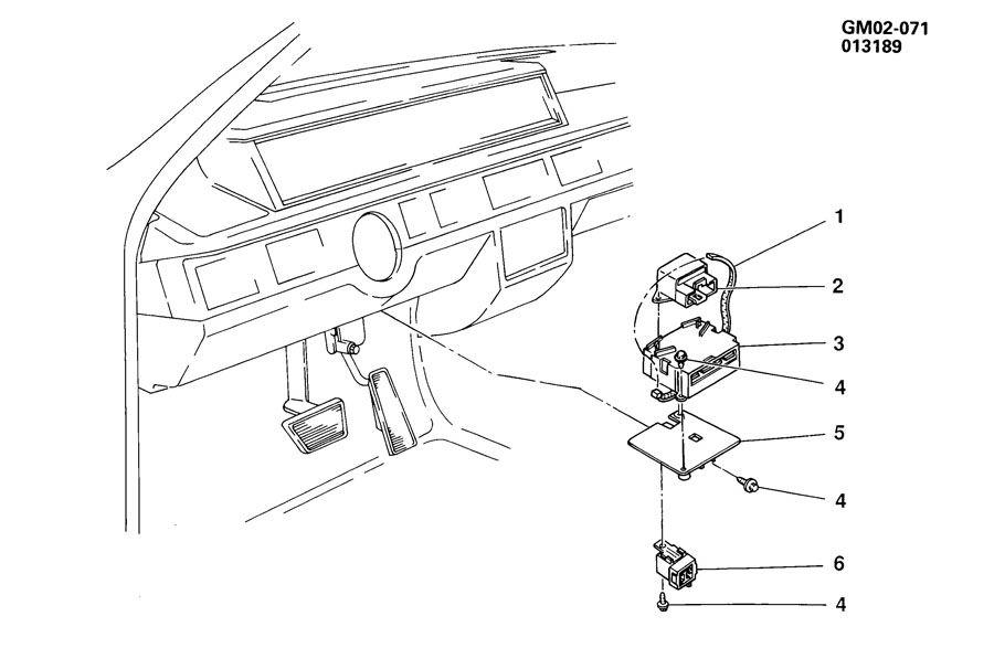 1989 Cadillac Funeral Coach ALARM SYSTEM/ANTI THEFT